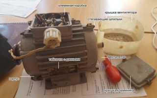 Асинхронный двигатель подключение на 220 без конденсаторов схема