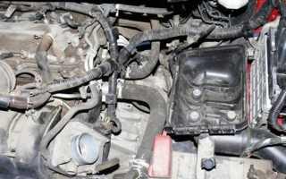Замена сцепления на Toyota Corolla