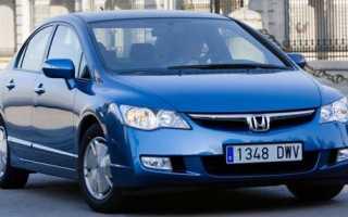 Honda civic 4d подушка двигателя как определить