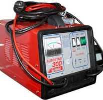 Устройство для зарядки аккумулятора и запуска двигателя
