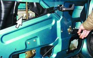 Как установить двигатель стеклоподъемника на ваз 2110