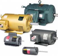 Электрические двигатели переменного тока принцип работы и устройство