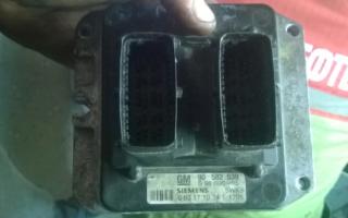 Блок управления двигателем на опель зафира схема